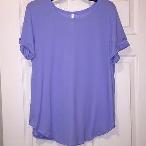 Lululemon Active Shirt 12 Lavender